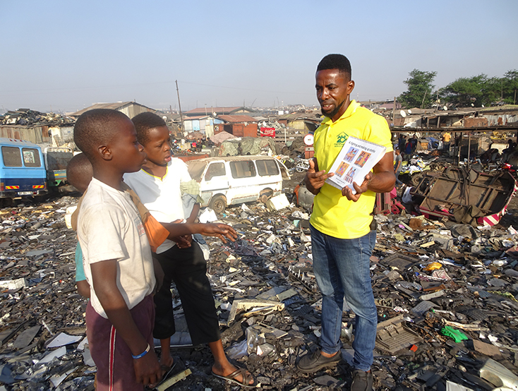 Accra Street Work